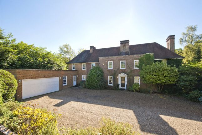 Thumbnail Detached house for sale in Broadwater Road South, Burwood Park, Walton-On-Thames, Surrey
