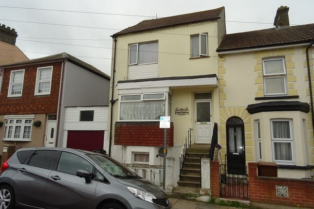 Thumbnail End terrace house for sale in Saxton Street, Gillingham, Kent.