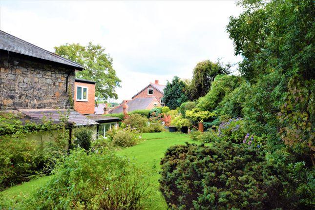 Rear Garden of Wrexham Road, Caergwrle LL12