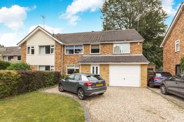 Thumbnail Semi-detached house to rent in Foxcote, Finchampstead, Wokingham