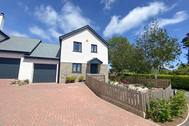3 bed link-detached house for sale in Cherry Court, Lamerton, Tavistock PL19