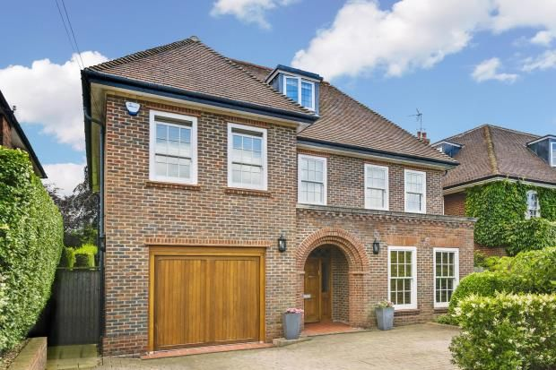 Thumbnail Detached house for sale in Holne Chase, Hampstead Garden Suburb, London