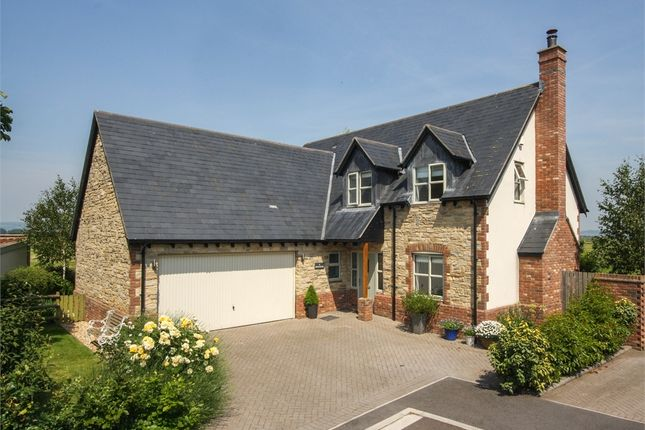 Thumbnail Detached house for sale in Bruewithy, 4 Old Orchard Close, Meare, Glastonbury, Somerset