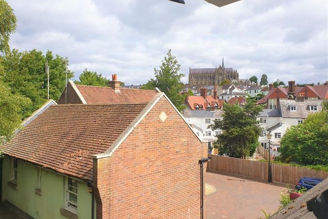 View From Window of Wheelwrights Close, Arundel, West Sussex BN18