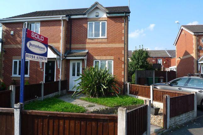 Thumbnail Semi-detached house to rent in Oakthorn Grove, Haydock, St. Helens
