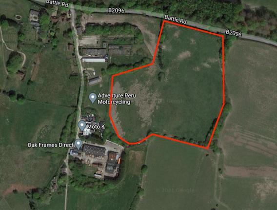 Thumbnail Land for sale in Battle Road, Heathfield