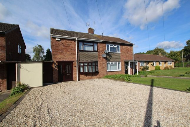 Thumbnail Semi-detached house for sale in Sir Winston Churchill Place, Binley Woods, Coventry