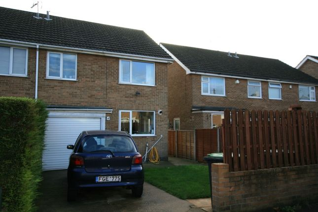 Thumbnail Semi-detached house to rent in Hobart Drive, Stapleford, Nottingham