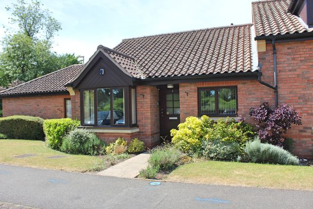 Thumbnail Terraced bungalow for sale in Honeywell Close, Oadby, Leicester