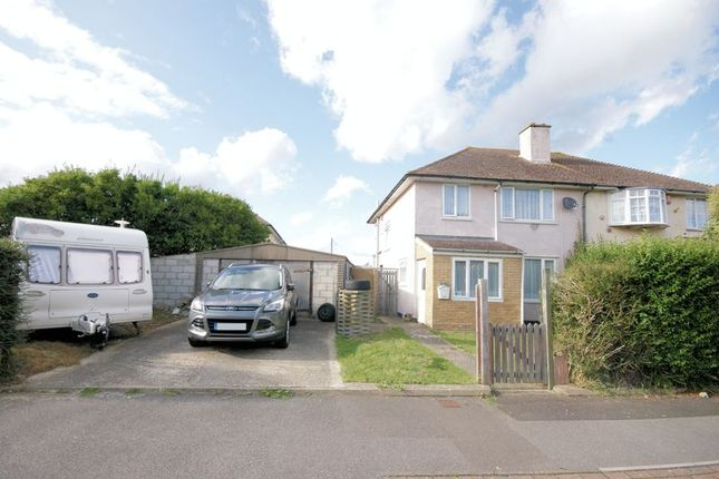 Thumbnail Semi-detached house for sale in Layton Road, Gosport