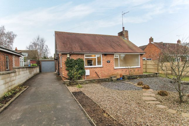 Thumbnail Detached bungalow for sale in Old Derby Road, Ashbourne