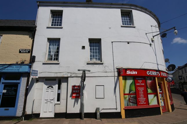 Thumbnail Flat to rent in Bridge Street, Tiverton