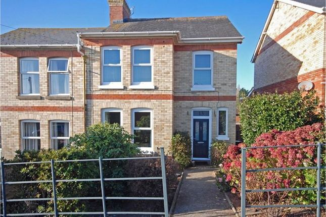 Thumbnail Semi-detached house for sale in Livingstone Road, Teignmouth