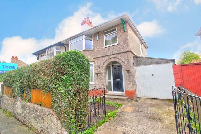 Thumbnail Semi-detached house for sale in Ingleborough Road, Tranmere, Birkenhead