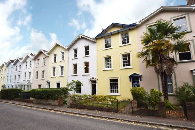 Thumbnail Terraced house to rent in Belmont Road, Exeter
