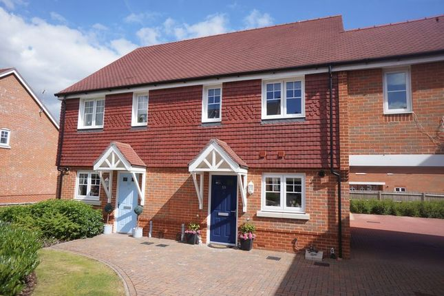 Thumbnail End terrace house to rent in Claines Street, Holybourne, Alton