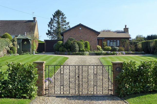 Thumbnail Detached bungalow for sale in Church Road, Braunston