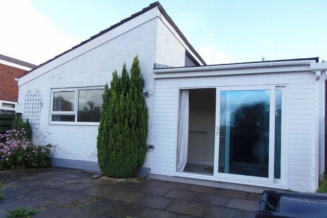 Thumbnail Terraced bungalow to rent in 162, Lon Gwern, Trehafren, Newtown, Powys