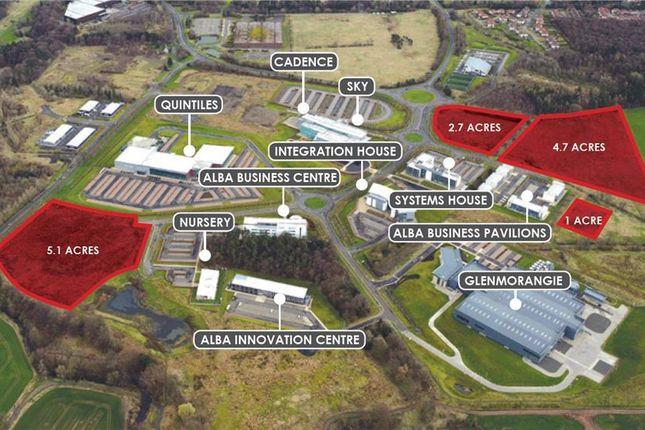 Thumbnail Land for sale in Alba Business Park, Livingston