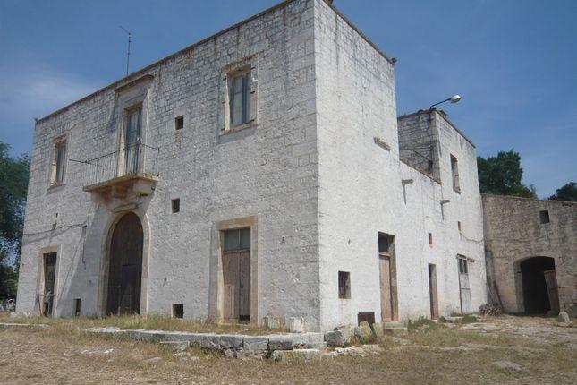 External of Masseria Cavallerizza, Monopoli, Puglia, Italy