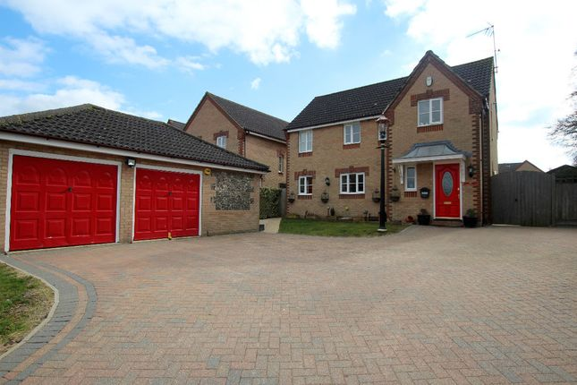 Thumbnail Detached house for sale in Constable Road, Haverhill