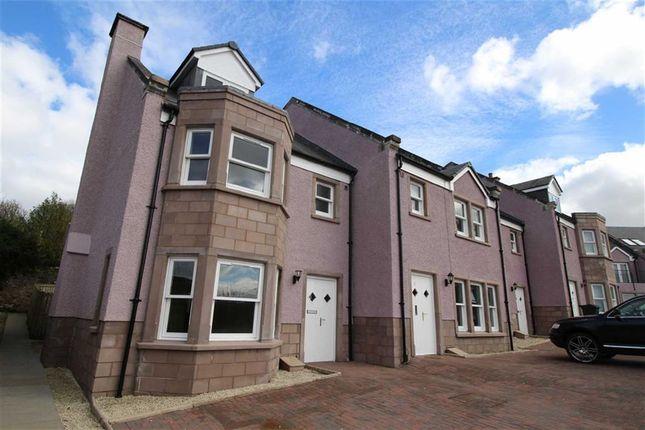 Thumbnail End terrace house for sale in Langhouse Mews, Inverkip, Renfrewshire
