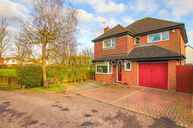 Thumbnail Detached house for sale in Dale Close, Stanway, Colchester