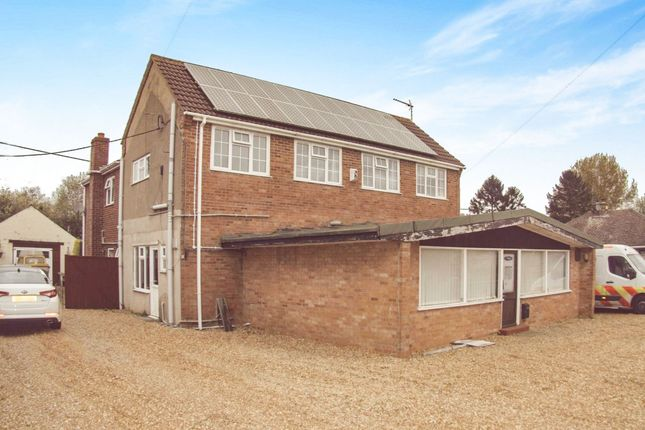 Thumbnail Detached house for sale in Listers Road, Upwell, Wisbech