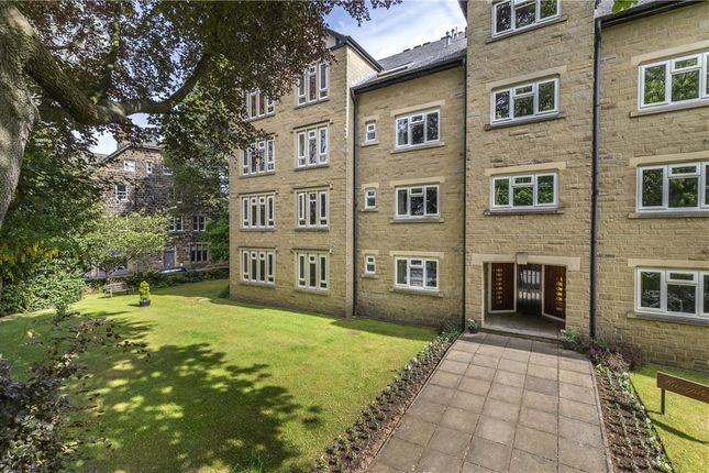 Thumbnail Flat for sale in Hampton Court, Grove Road, Ilkley, West Yorkshire