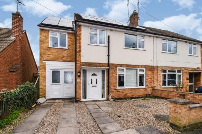 Front of Wellington Street, Syston, Leicester, Leicestershire LE7