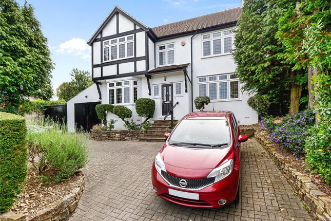 Thumbnail Detached house for sale in Hartley Down, Purley