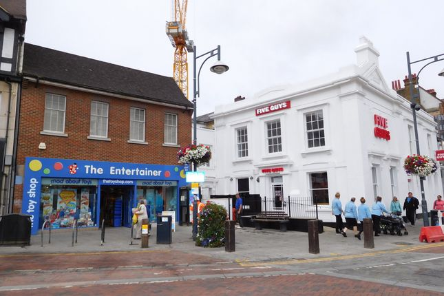 Thumbnail Retail premises to let in High Street, Watford