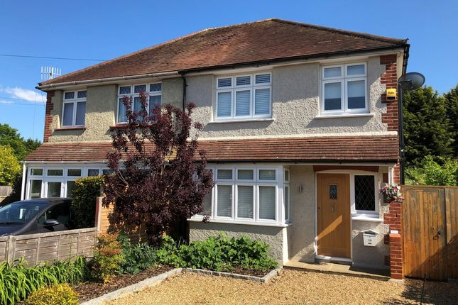 Thumbnail Semi-detached house for sale in Stroude Road, Virginia Water
