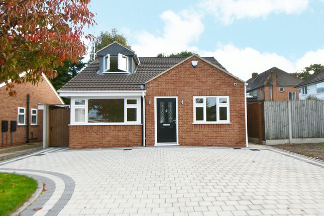 Thumbnail Detached bungalow for sale in Shirley Park Road, Shirley, Solihull