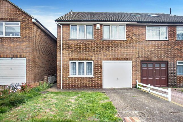 Thumbnail Semi-detached house for sale in Bedwell Road, Upper Belvedere, Kent