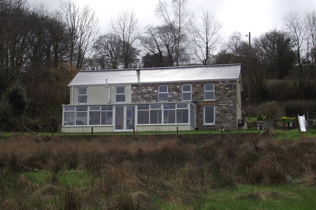 Thumbnail Detached house for sale in Coedffaldau Road, Rhiwfawr, Swansea.