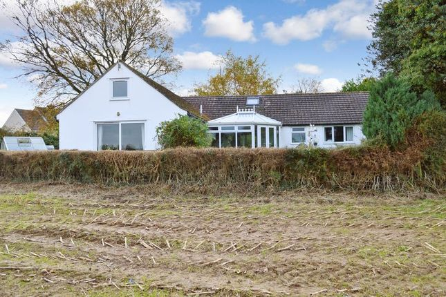 Thumbnail Detached bungalow for sale in Kilmington Common, Kilmington, Warminster