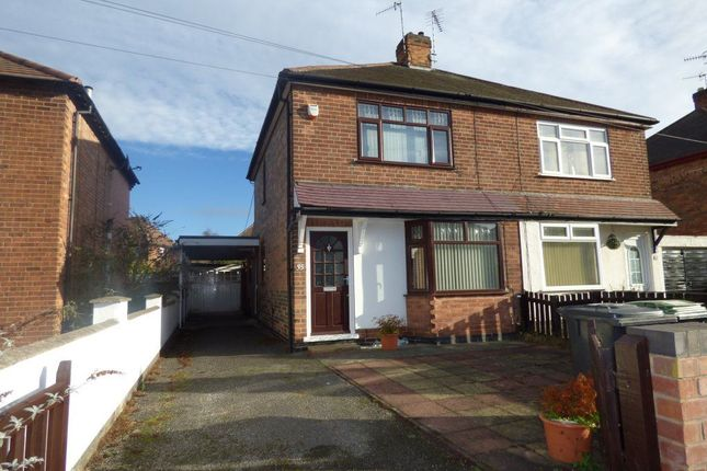 Thumbnail Semi-detached house to rent in West Avenue, Stapleford