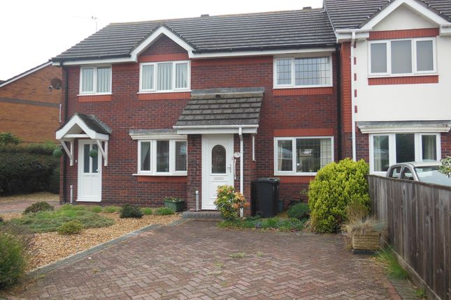 2 bed terraced house to rent in Knowles Close, Christchurch BH23