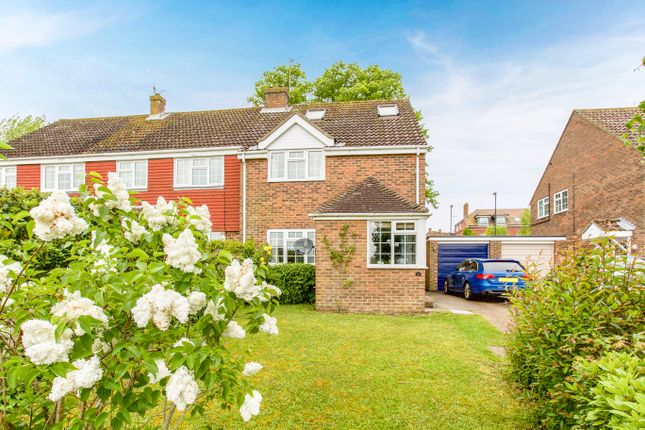 Thumbnail Semi-detached house for sale in Oakmede Way, Ringmer