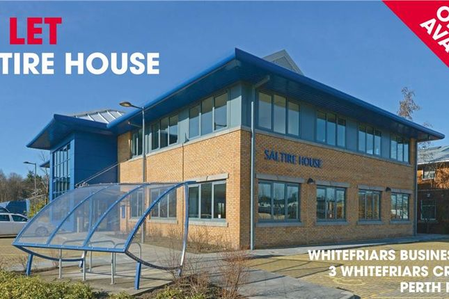 Thumbnail Office to let in Saltire House Suite, 3 Whitefriars Crescent, Perth