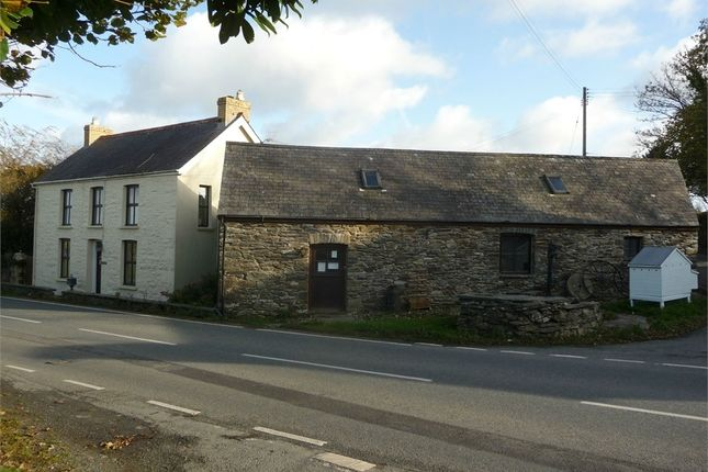 Thumbnail Detached house for sale in Islwyn, Crosswell, Crymych, Pembrokeshire
