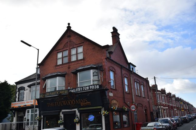Thumbnail Flat to rent in Ampthill Road, Aigburth