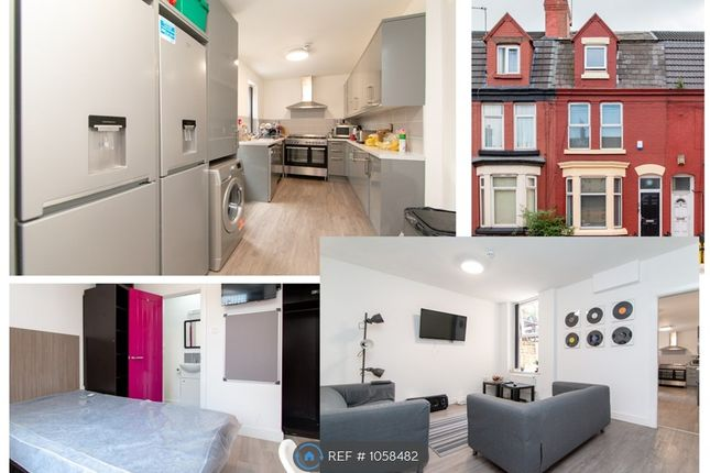 Thumbnail Terraced house to rent in Kensington 6 Bed All Ensuite, Liverpool
