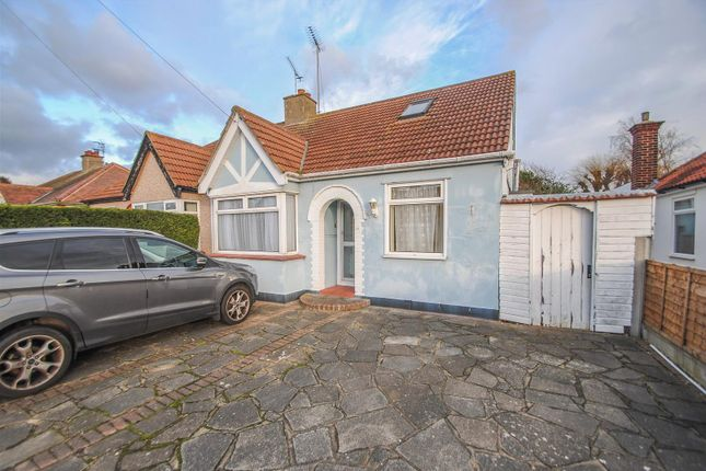 Thumbnail Semi-detached bungalow for sale in Vickers Road, Southend-On-Sea