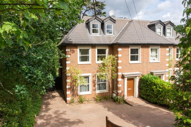 Thumbnail Semi-detached house for sale in Hanger Hill, Weybridge