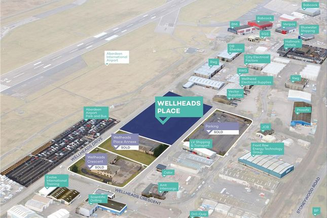 Thumbnail Industrial for sale in Wellheads Place, Dyce, Aberdeen