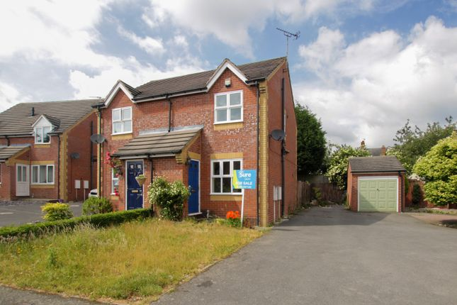 Thumbnail Semi-detached house for sale in Ladyfields Way, Newhall, Swadlincote