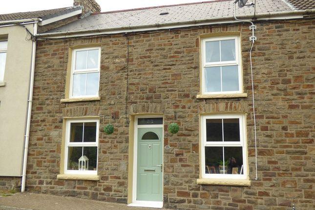 Thumbnail Terraced house for sale in Vale View Terrace, Nantymoel, Bridgend.