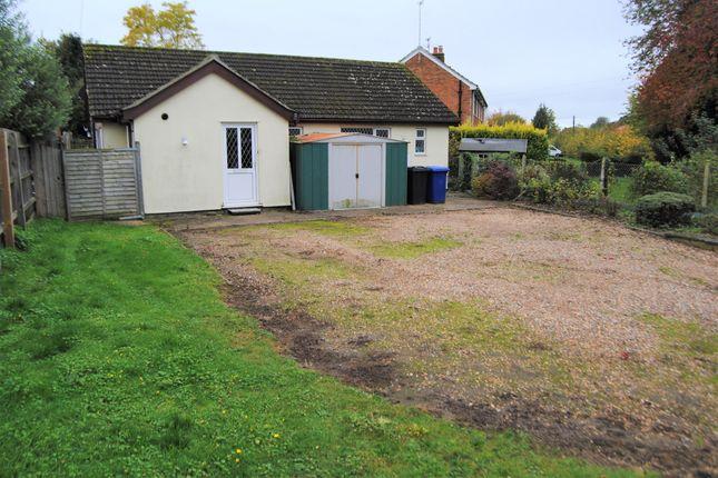 Thumbnail Detached bungalow for sale in Hepworth Road, Stanton, Bury St. Edmunds